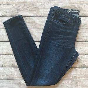 Madewell | Dark Wash Skinny Jean